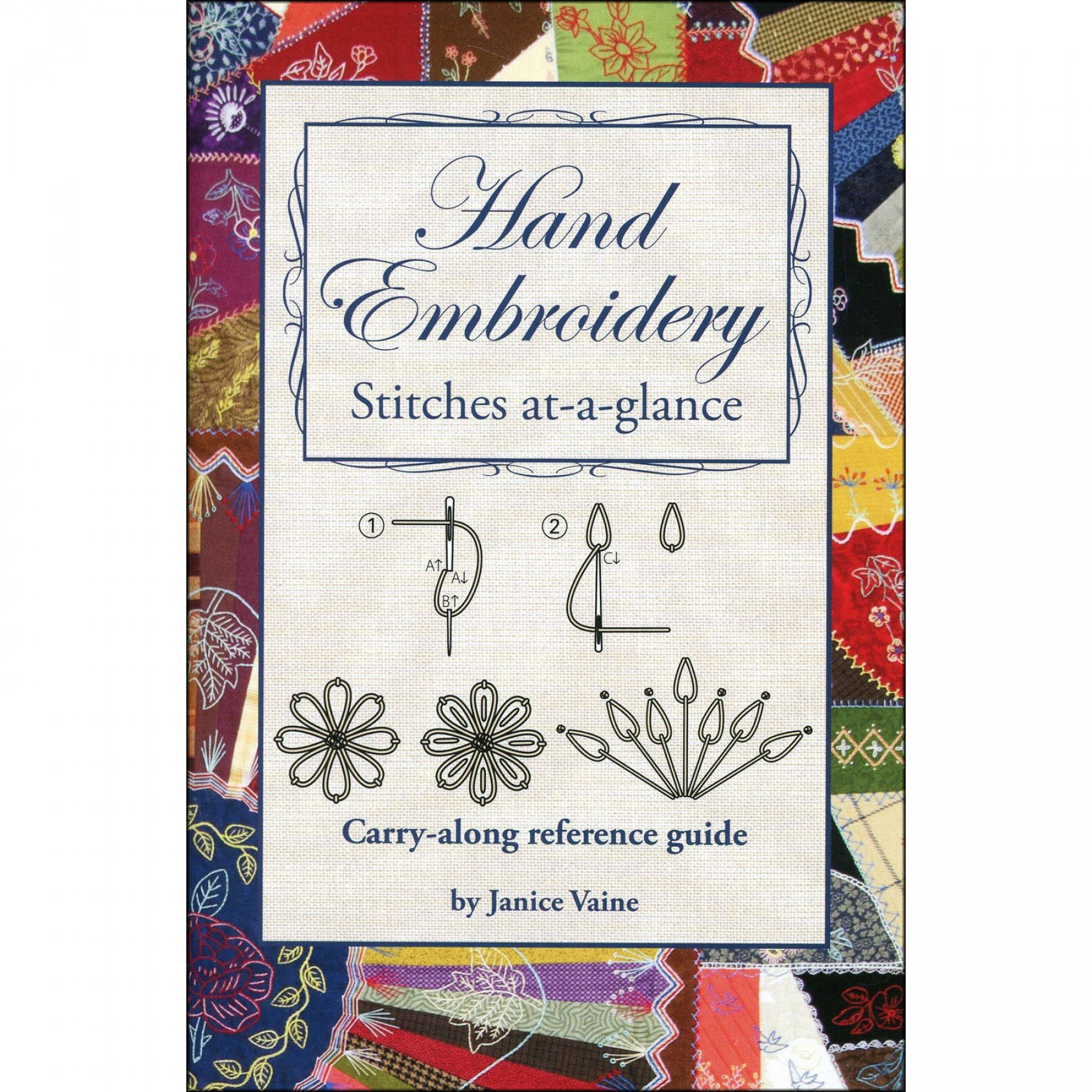 Hand Embroidery Stitches At A Glance Ee Schenck Co