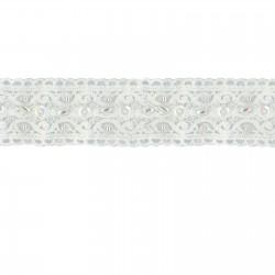 "Wrights Double Fold Fleece Binding .5/""x3yd-white"