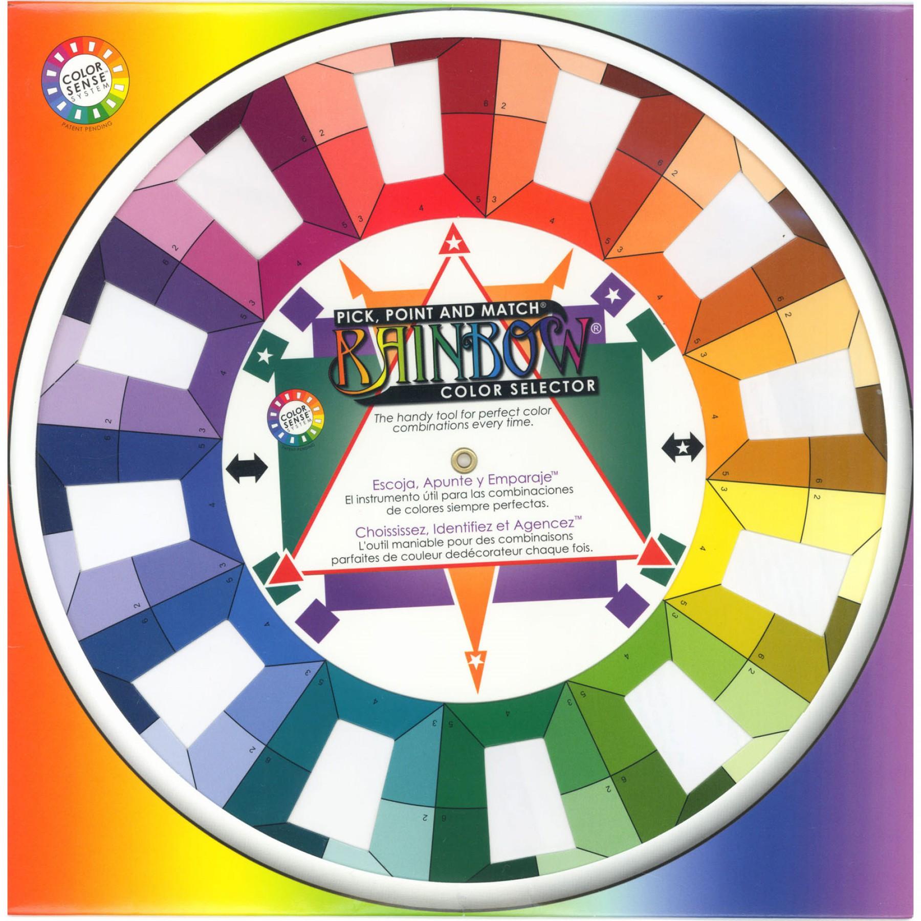 11 u0026quot  classic color wheel