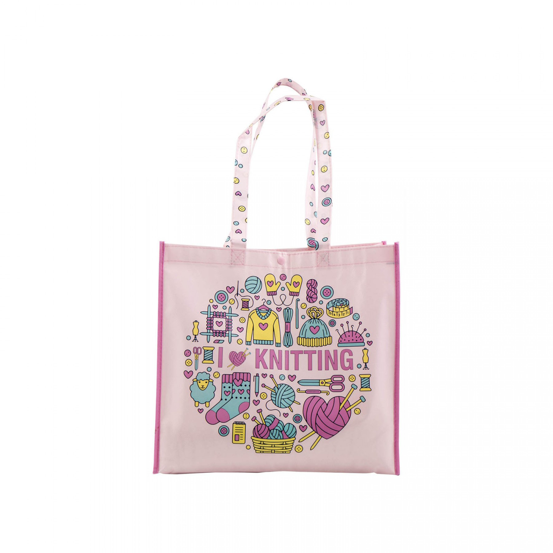 I Love Knitting Tote Bag | EE Schenck Co.
