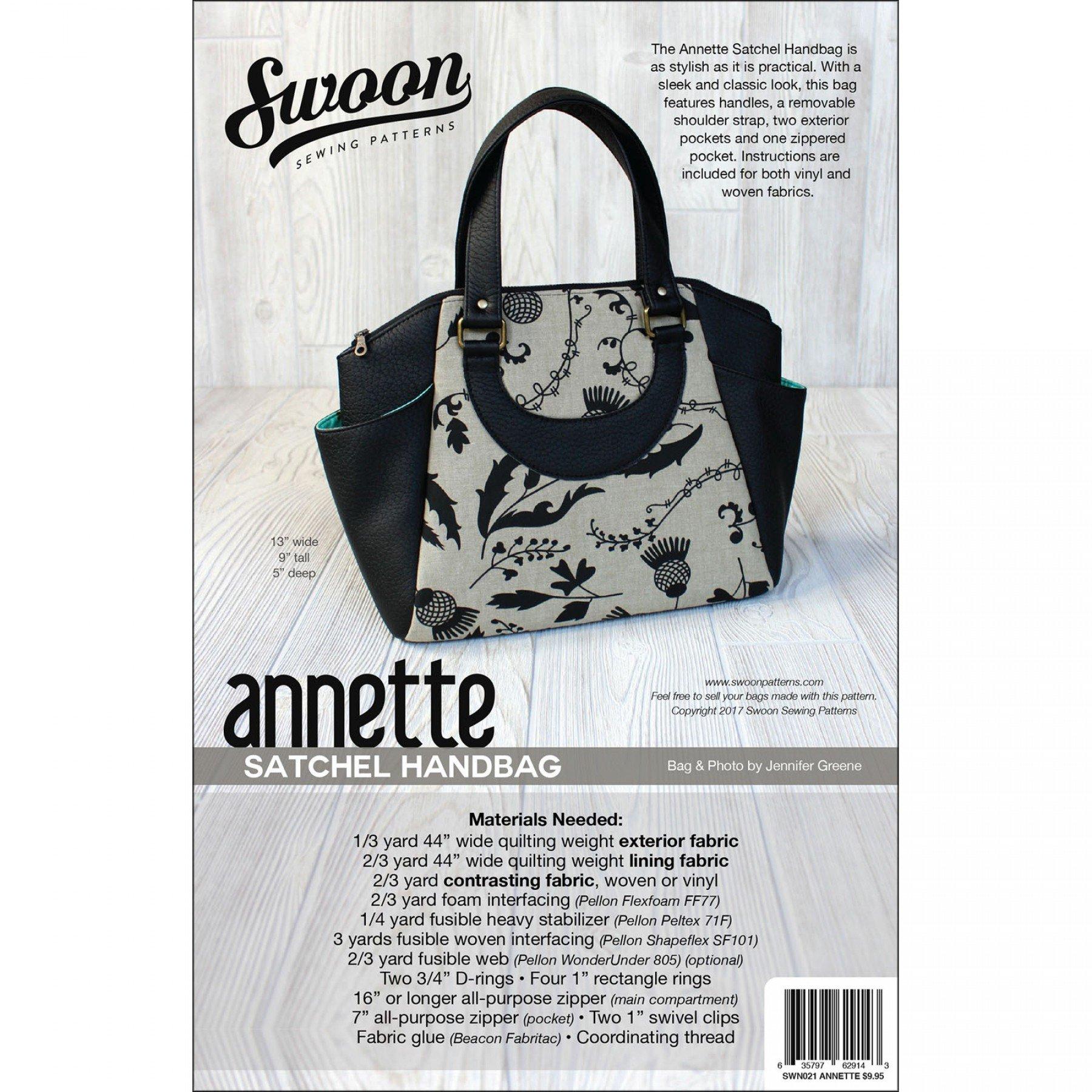 Annette Satchel Handbag | EE Schenck Co.