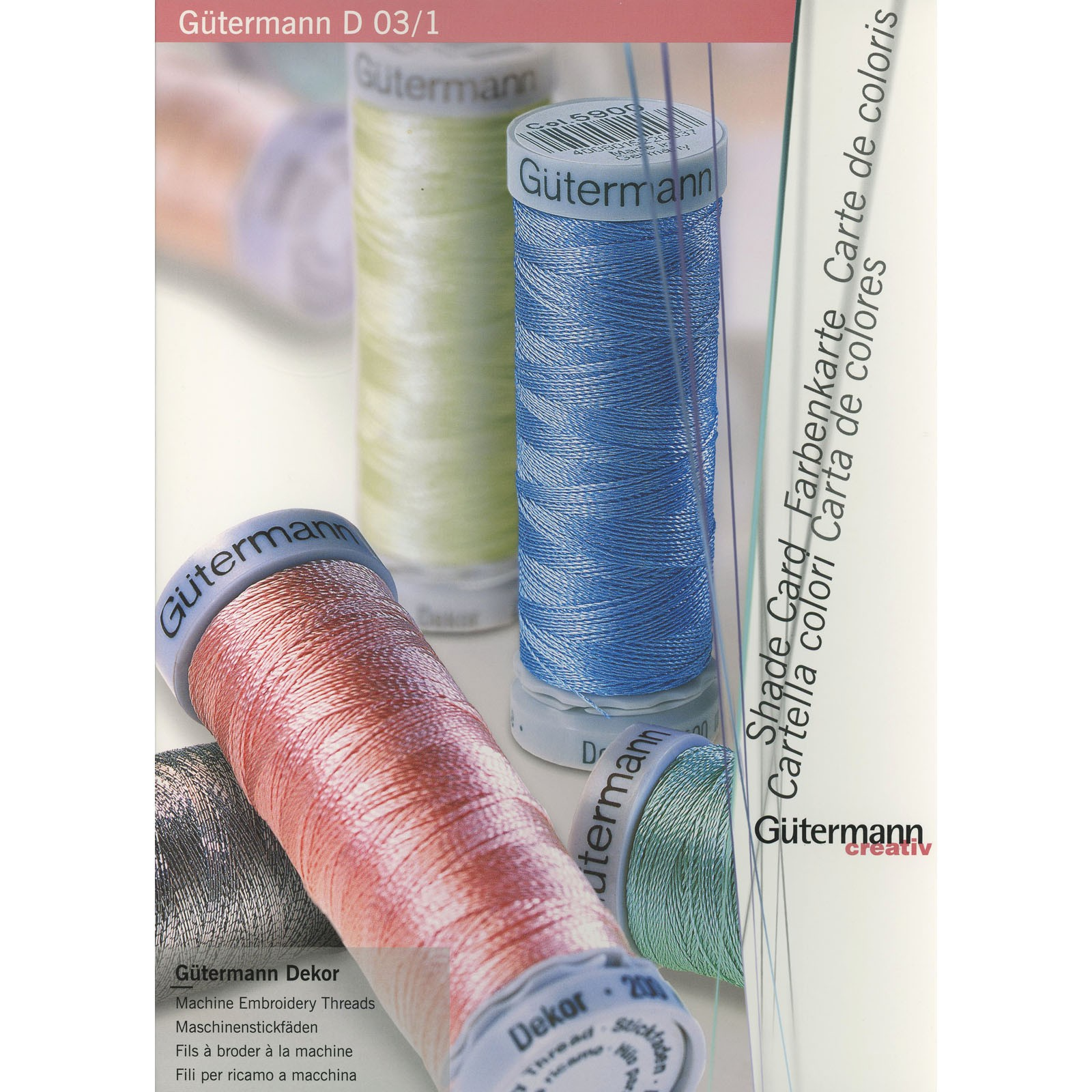 Gutermann Color Card Ee Schenck Co