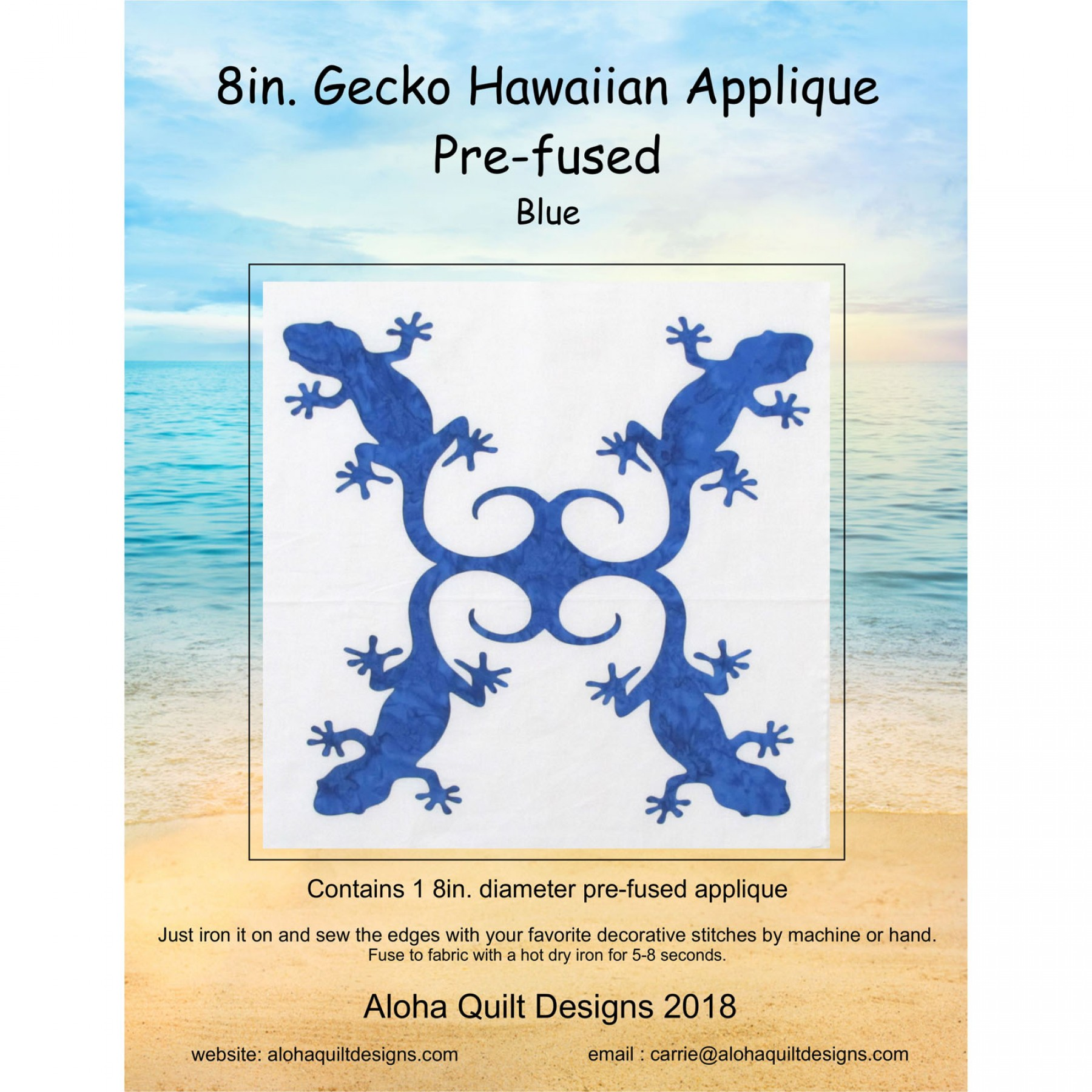 Pre-Fused Hawaiian Appliqué | EE Schenck Co