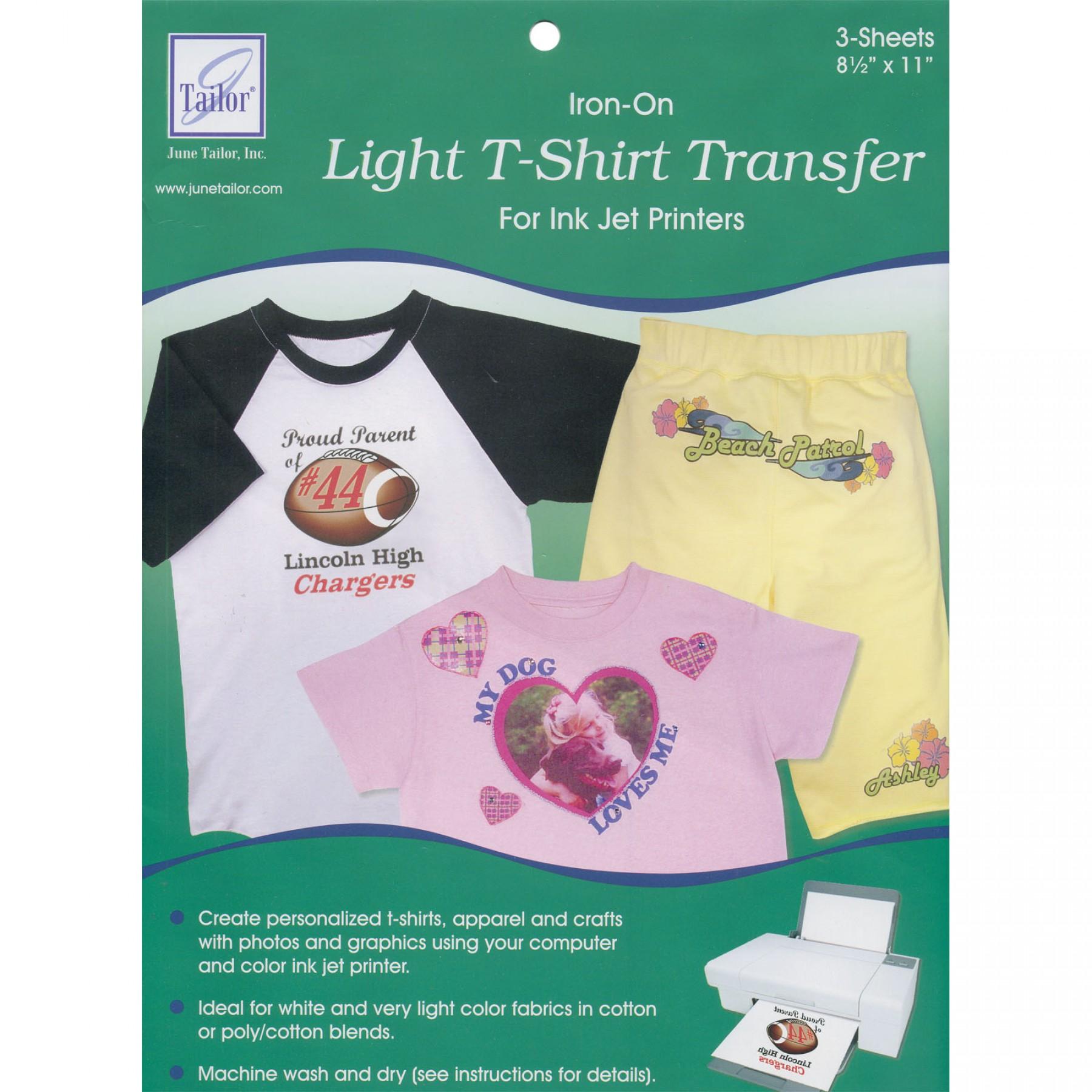 Light T Shirt Transfer Ee Schenck Co