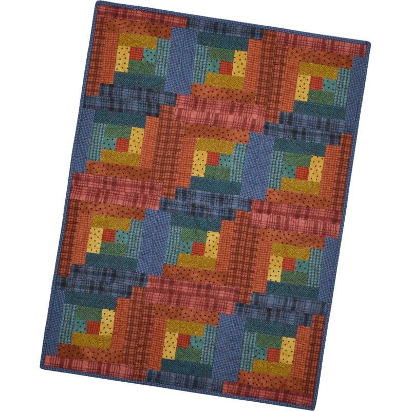 woolies flannel - sunrise - pods precut quilt kits
